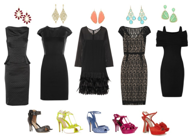 Dedicated post what to wear to a wedding redress for Jewelry accessories for black dress